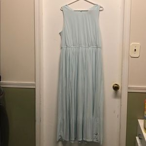 Baby blue maxi dress from Target